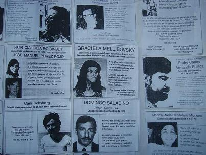 Photocopied Images of the Disappeared